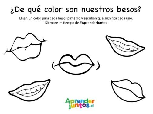 Mamá ¿De qué color son los besos? | Jardín Vitamina