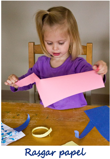 rasgar papel