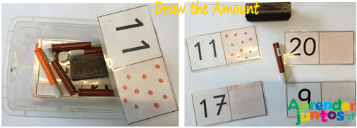 Draw the Amount