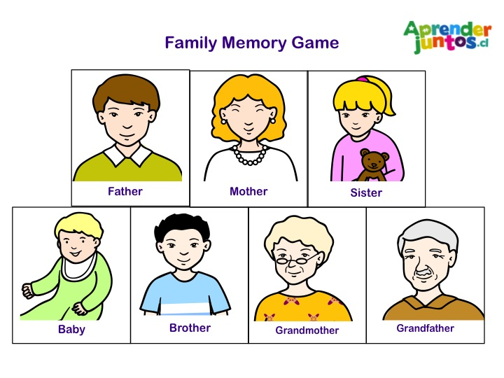 Memory Pictures For Kids