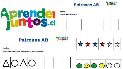 Patrones AB: !a Secuenciar Elementos! | Aprender Juntos