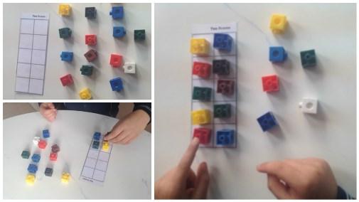 grupos de 10 con ten frame