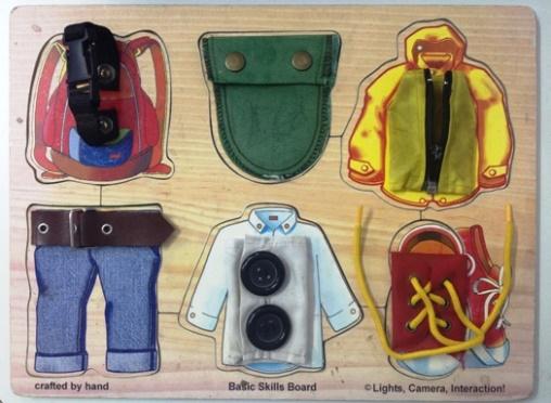 panel de ropas