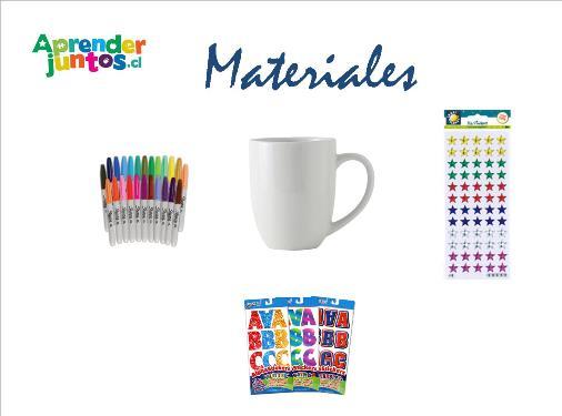 Materiales Mug