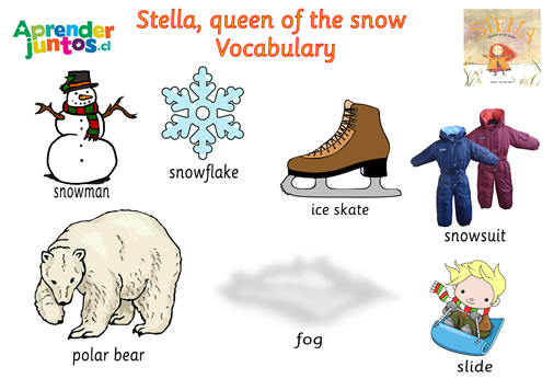 Stella Queen of the Snow Vocab