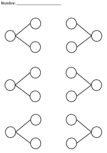 completar parejas de números