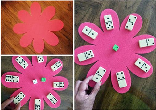 juego de flor