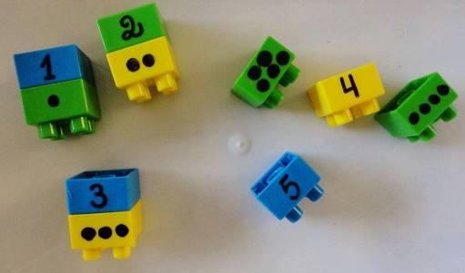 juegos legos y numeros ninos