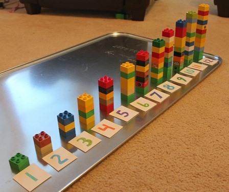 juego legos y numeros