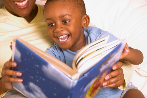 A bedtime story --- Image by © Royalty-Free/Corbis