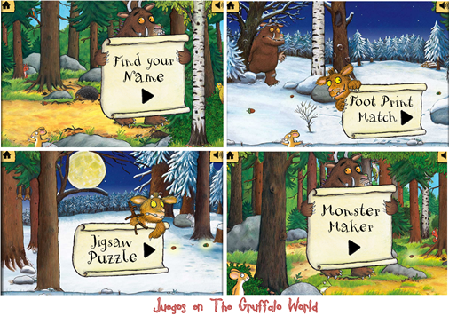 The gruffalo world